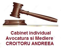 Cabinet individual Avocatura si Mediere Croitoru Andreea