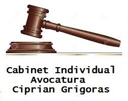 Cabinet Individual Avocatura Ciprian Grigoras
